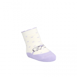 BROSS Baby Thermo-Stoppersocken Schleifen lila